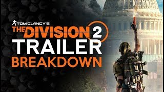 Division 2 NEW Trailer/Footage - With Discussion And Breakdown