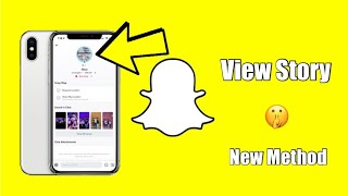 New Snapchat: Easy Way To View Friends Stories Without Them Knowing!!