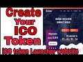 Create Your ICO token without coding knowledge | Start ICO launching Website