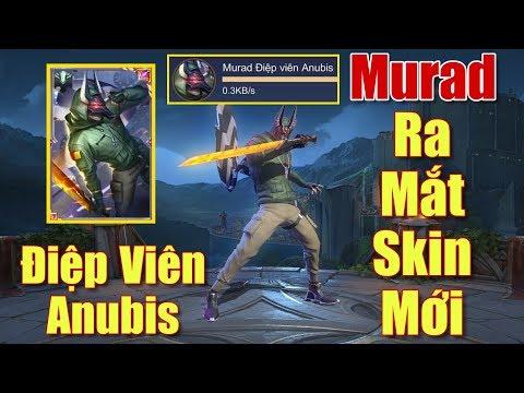 [Gcaothu] Murad Điệp Viên Anubis chính thức ra mắt - Skin lả lướt đánh cực ảo diệu