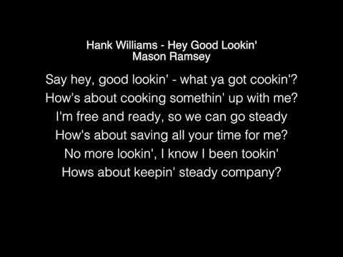 Mason Ramsey - Hey Good Lookin' Lyrics (Hank Williams) TheEllenShow live