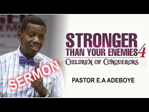 Pastor E.A Adeboye Sermon @ RCCG April 2018 HOLY GHOST SERVICE