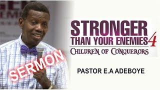 pastor ea adeboye sermon rccg april 2018 holy ghost service