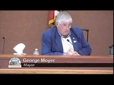 Mayor Publicly Censures City Manager Rock