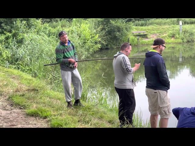 Ihmsen - Der Forellengott Forellensee Rosenweiher Was für ein harter Kampf! 80 Minuten-Drill-Party