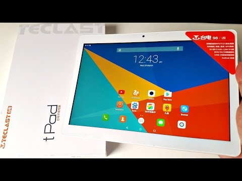 Generate 2017 Best Octo-core Tablet for under £100 - tPad 98 by Teclast Snapshots