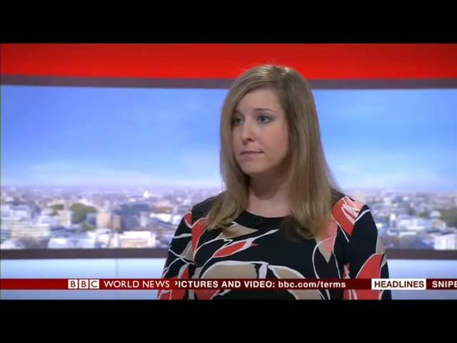 Kings College London: BBC World News interview with Dr Stacey Gutkowski