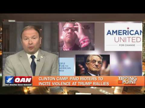 BUSTED: Hillary Clinton paid operatives to incite violence at Trump rallies! via @Liz_Wheeler