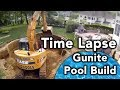 Gunite  Inground Pool Installation