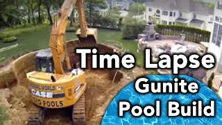 Gunite  Inground Pool Installation(, 2015-02-19T20:52:58.000Z)