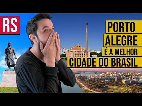 Por que PORTO ALEGRE é a MELHOR CIDADE do Brasil? [PORTUGUÊS | INGLÊS]
