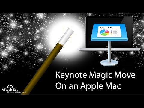 The Keynote Magic Move on a Mac - animation for non animators - incredible animations Apple Keynote