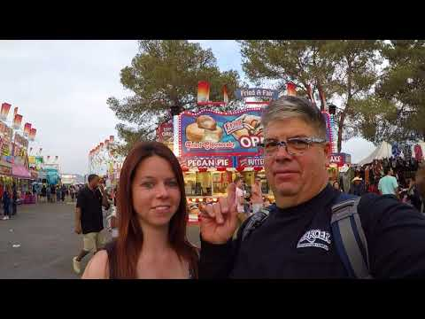 #227 Pima County Fair 2018 The Life of an Owner Operator Flatbed Truck Driver Vlog