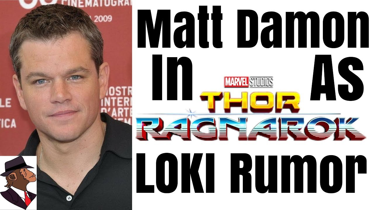 Matt Damon Joins Thor ...