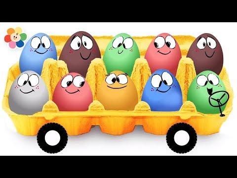 Las Ruedas del Bus y más Canciones Infantiles | BabyFirst Español