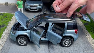 1:18 Skoda Yeti TSI facelift (5L) 2013 - Paudi [Unboxing]