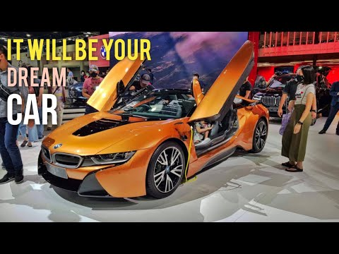 BMW i8 | Sports Car | New Ford Mustang - Thailand International Motor Expo 2020