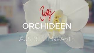 Orchideen aus Blütenpaste   Betty´s Sugar Dreams