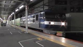 JR茨木駅 4:45~5:30 8862ㇾ西武001系甲種輸送撮りに 2019.11.30