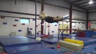2015 09 22 Rings Dream Machine Workout - Victorian/maltese Work - Gymnastics Still Rings Training
