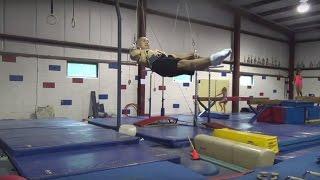 2015 09 22 Rings Dream Machine Workout - Victorian/maltese Work - Gymnastics Still Rings Training