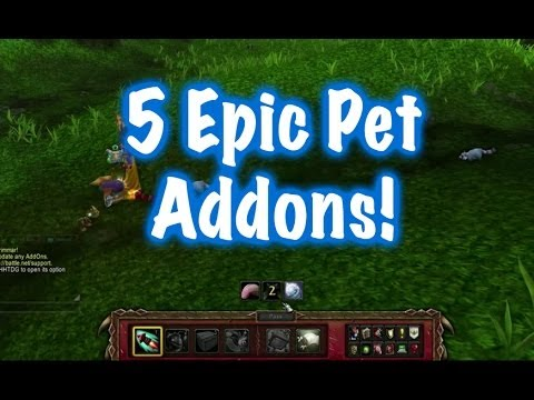 5 Amazing Pet Addons (World of Warcraft)
