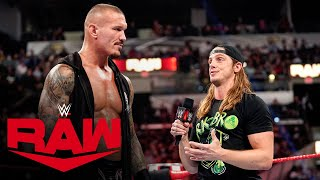 Riddle asks Randy Orton for an RK-Bro reunion: Raw, Aug. 16, 2021