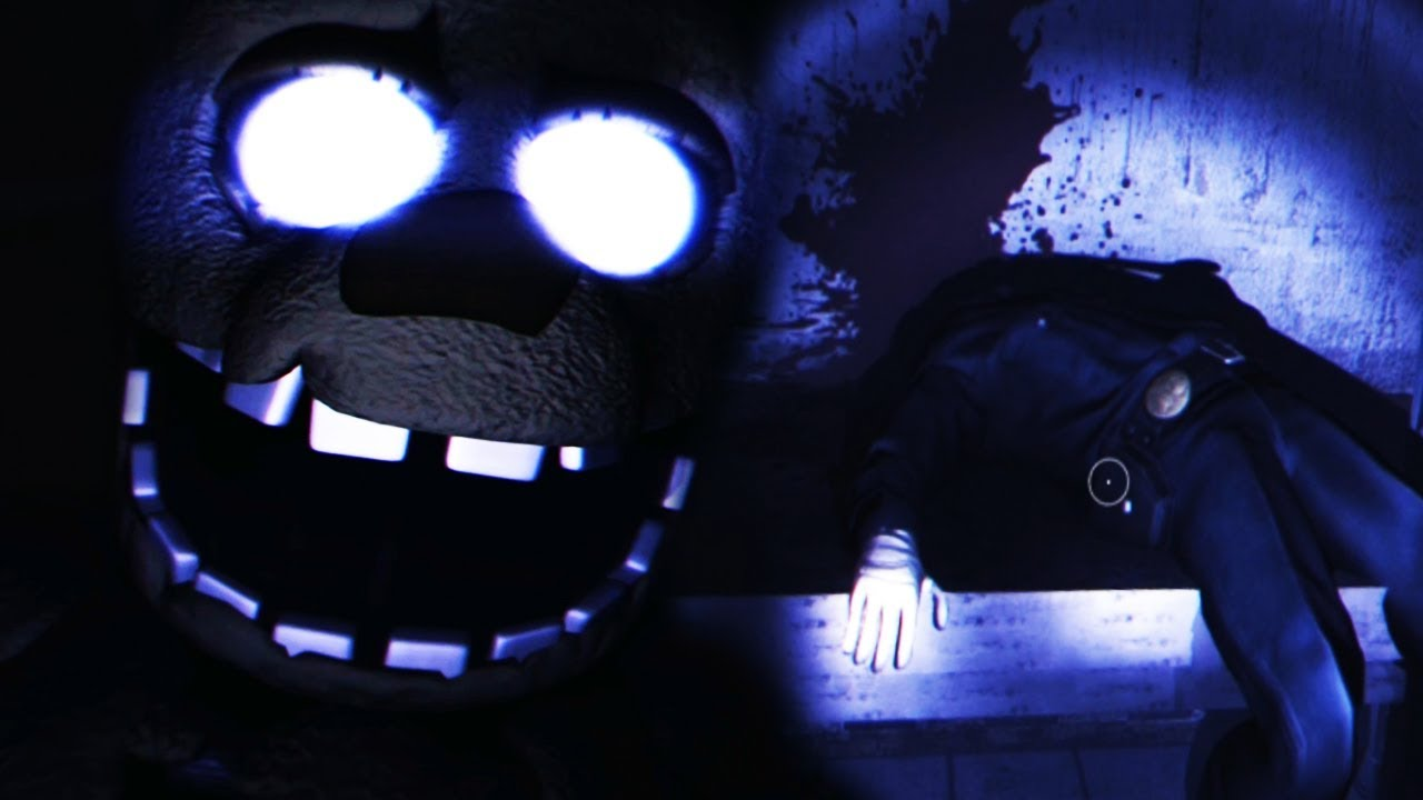 FOXY BIT THE SECURITY GUARDS HEAD OFF!    Fredbear and Friends: Reboot  (Part 1)