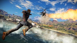 Just Cause 3: CHOPPER & TANK FUN!! (AND MAYBE A LITTLE SPARK!)