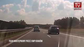 Piraci drogowi a kamerki samochodowe