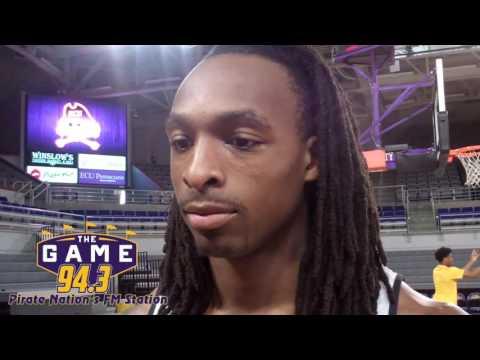 ECU Men's Basketball Players 11/28/16