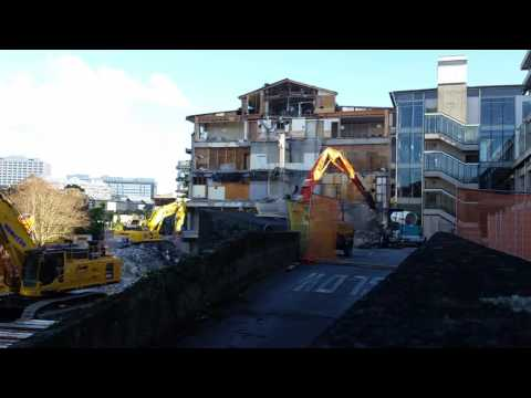 Long Reach Demolition with shears