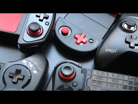 Comparing Mobile Gamepads