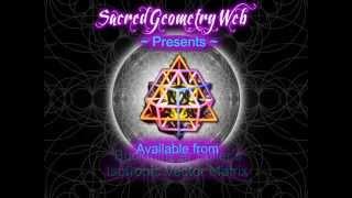 64 Tetrahedron Grid Buckminster Fuller Nassim Haramein 3D printing