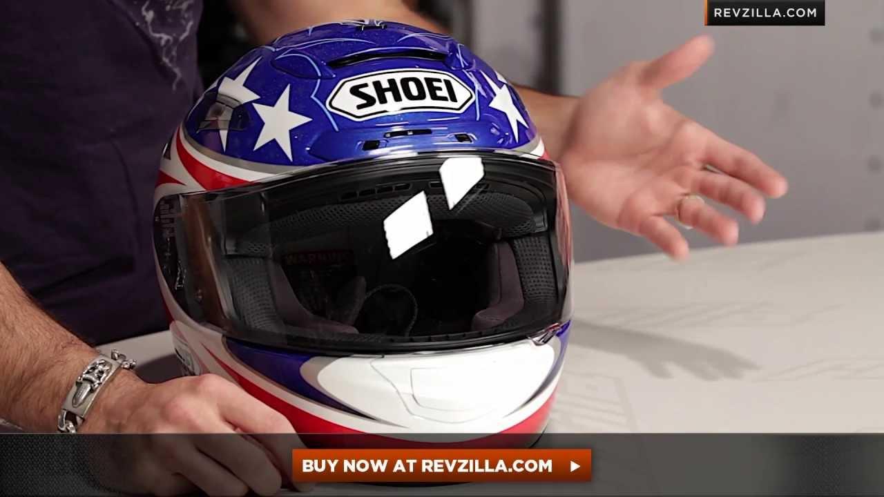Shoei X 12 B Boz 2 Helmet Review At Revzillacom Youtube Helm Glossy Racing Spirit White Blue