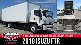 2019 ISUZU FTR 26ft Box Truck | ISUZU Truck Walk Around | IP TRUCK