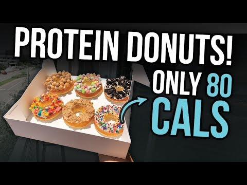 Low Cal Protein Donuts Recipe! | Only 80 Calories!