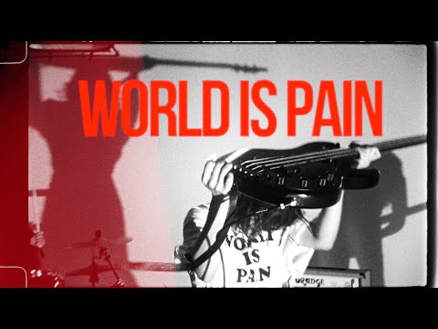 PEDRO / WORLD IS PAIN [OFFICIAL VIDEO]
