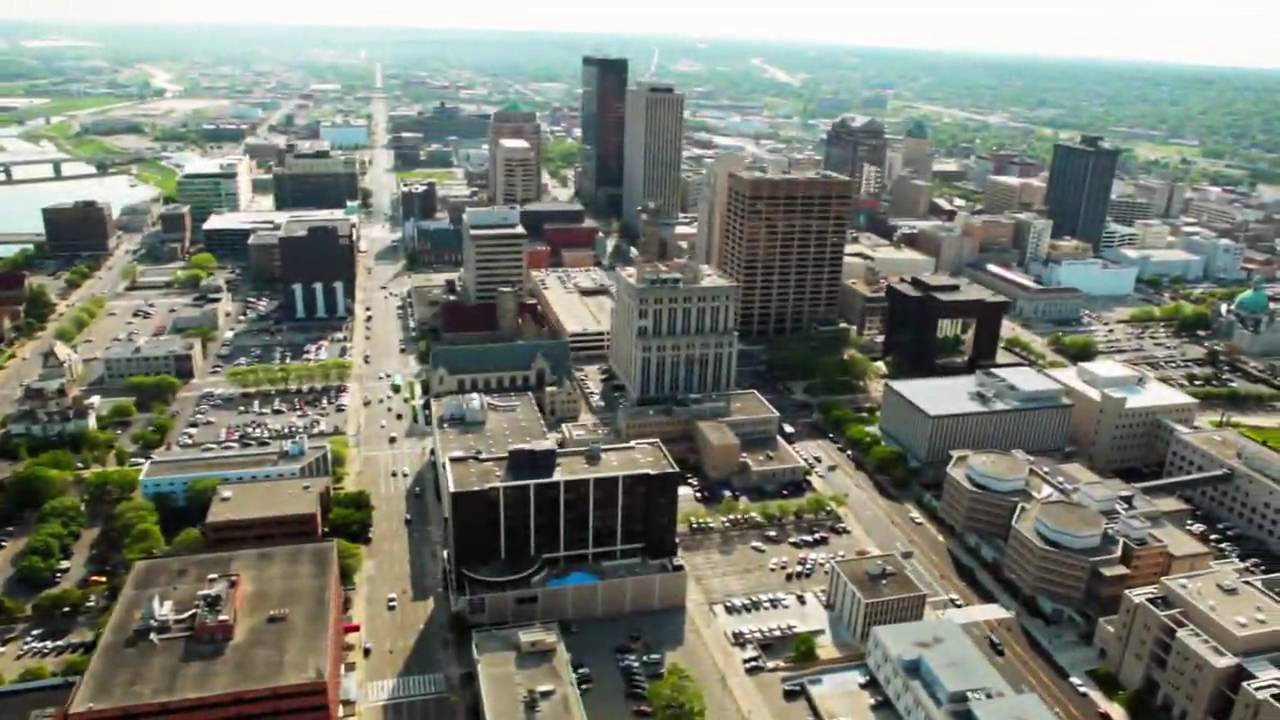 the greater downtown dayton plan  first cut