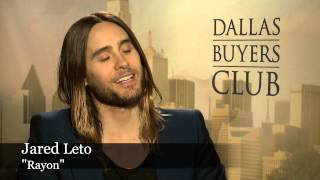 Dallas Buyers Club: Jared Leto & Matthew McConaughey Interviewed by Sasha Perl-Raver