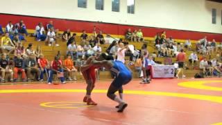 2012 Canada Cup: 60 Kg Alejandro Valdez (CUB) Vs. Dylan Williams (CAN)
