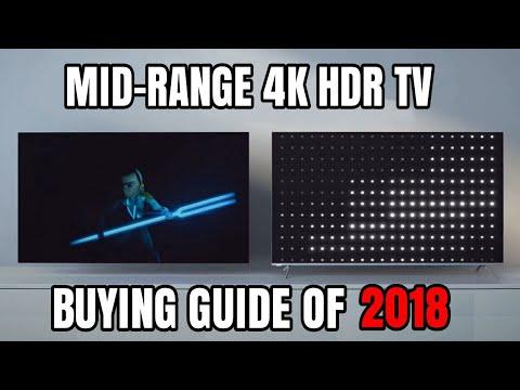 We reviewed Sony X900F / TCL R615 / SAMSUNG NU8000 / Q6FN / VIZIO P-SERIES  / LG UK650 / BENQ EX3203R