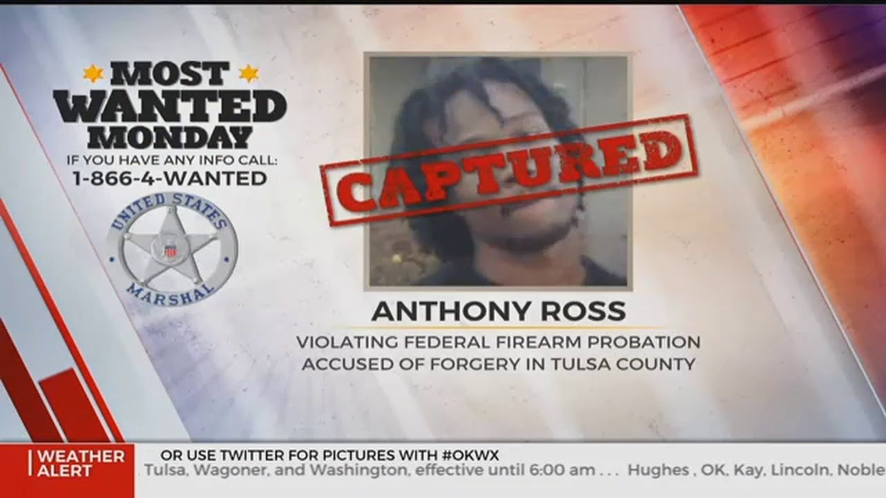 U S  Marshals Most Wanted Suspect Captured