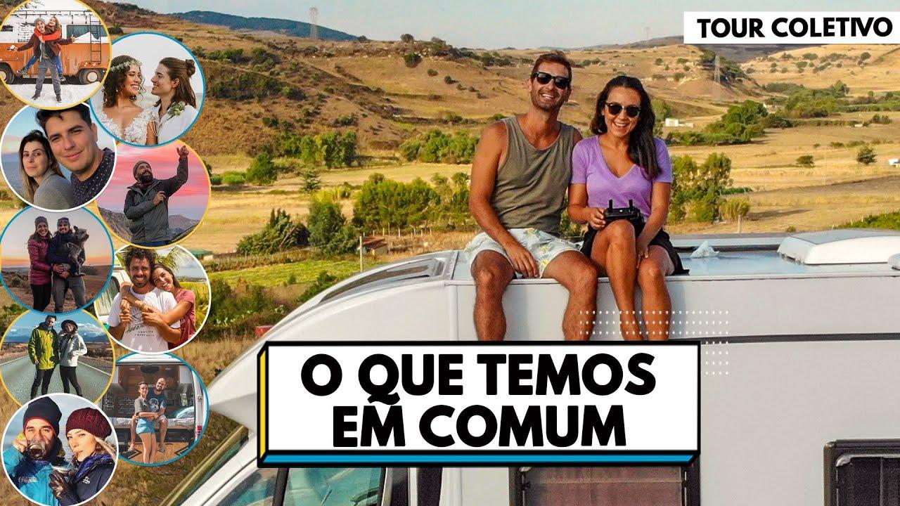 TOUR COLETIVO | COMO PLANEJAMOS PARA VIVER EM UM MOTORHOME | Travel and Share