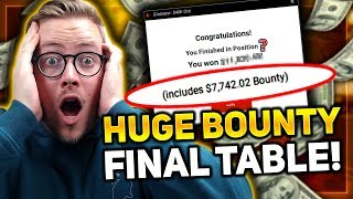 *MUST SEE* MY BIGGEST BOUNTY WIN EVER??? | $320 GLADIATOR FINAL TABLE!!