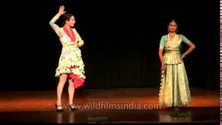 Dance comparison between Kathak from India and Flamenco from Spain(Flamenco is a genre of Spanish music, song, and dance from Andalusia, in southern Spain, that includes cante (singing), toque (guitar playing), baile (dance) ..., 2013-03-01T12:56:22.000Z)