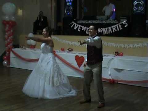 Mariage ouverture de bal surprise ! Sandrine et Li...