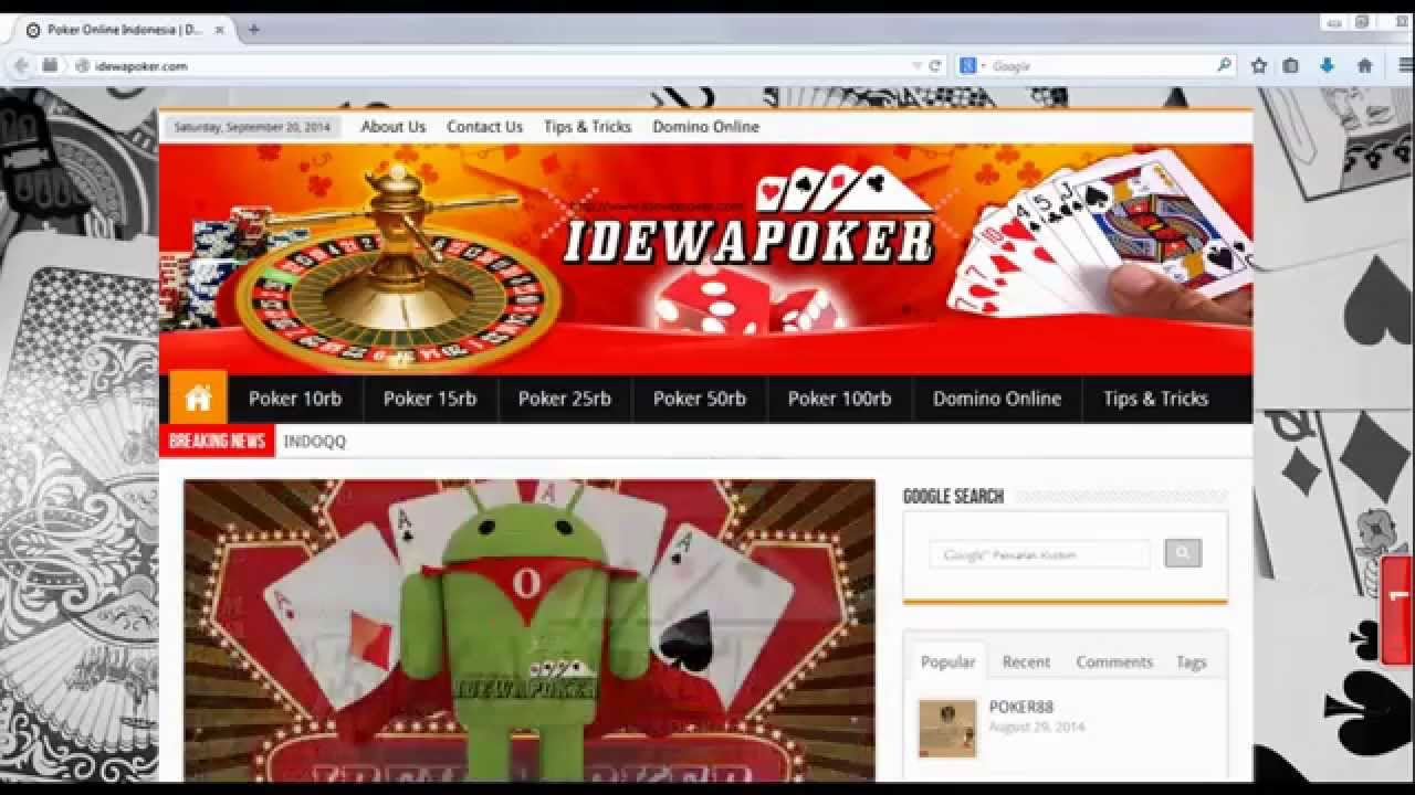 Cara Mendaftarkan Id Di Poker88 Idewapoker Com Youtube