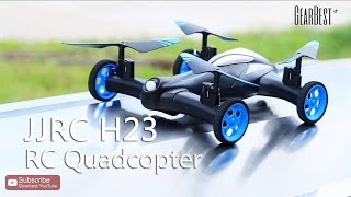 JJRC H23 Land/Sky 2 in 1 RC Quadcopter - Gearbest.com