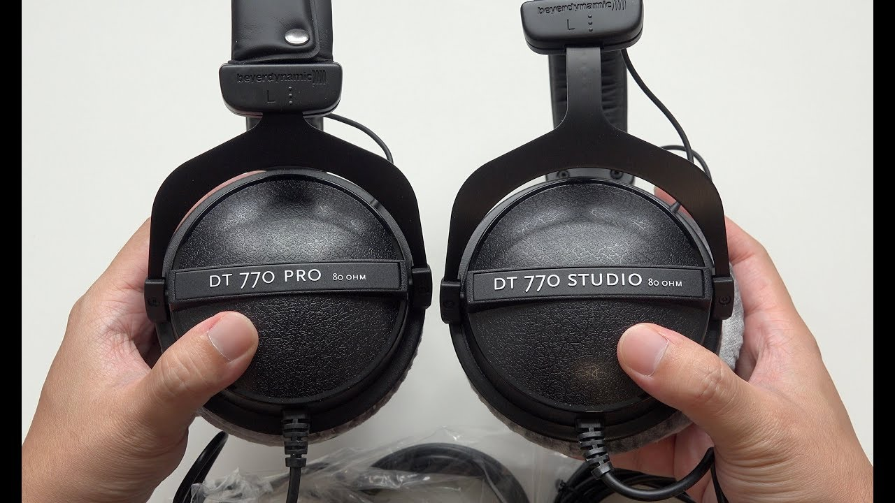beyerdynamic dt 770 studio vs dt 770 pro headphones what are the differences youtube. Black Bedroom Furniture Sets. Home Design Ideas